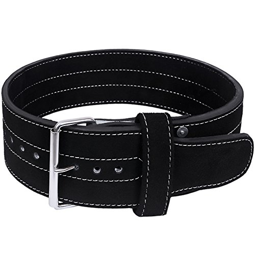 Hawk Single Prong Power Lifting Belt Inzer Weightlifting Belt Competition Power Belt, 10mm Thick Powerlifting Belt, Top Quality, 1 YEAR WARRANTY!!! MEDIUM (Powerlifting Belt Large)