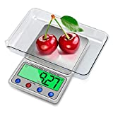 Intsun 0.001oz/0.1g 6000g Digital Kitchen Scale Multifunction Food Scale wi ....