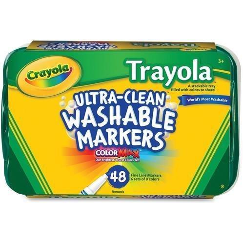 58 8214 Crayola Trayola Washable Marker