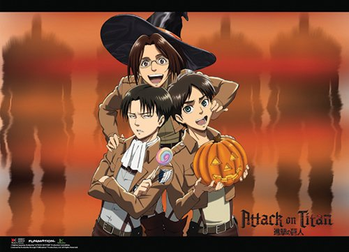 ATTACK ON TITAN - HALLOWEEN GROUP -