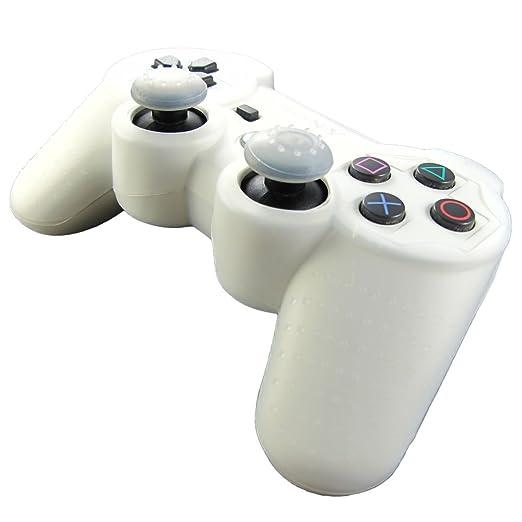 322 opinioni per Pandaren® Pelle cover skin per il PS3 controller(bianco) x 1 + pollice presa x 2