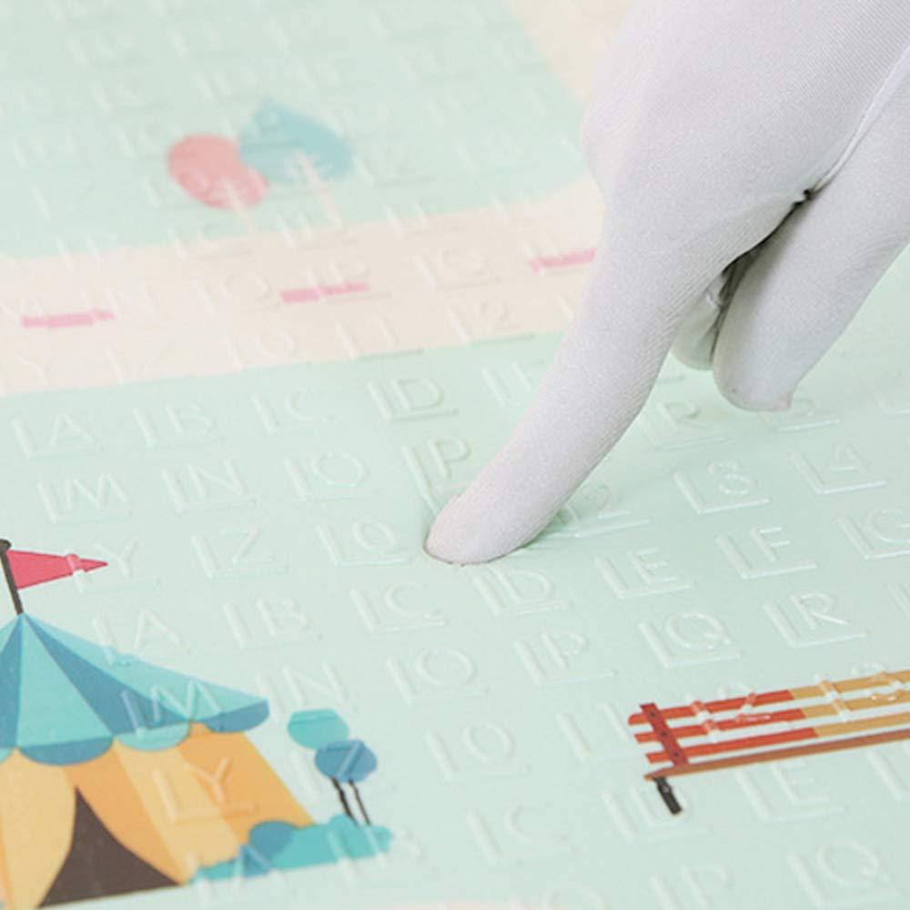 extragrande reversible Takefuns Alfombrilla de juegos para beb/é impermeable port/átil plegable para ni/ños peque/ños y beb/és(200 x 180 cm) antideslizante de doble cara