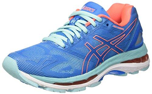 ASICS Womens Gel-Nimbus 19 Running Shoe Blue