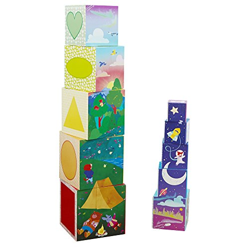 Educational Insights Bright Basics Nest & Stack Cubes