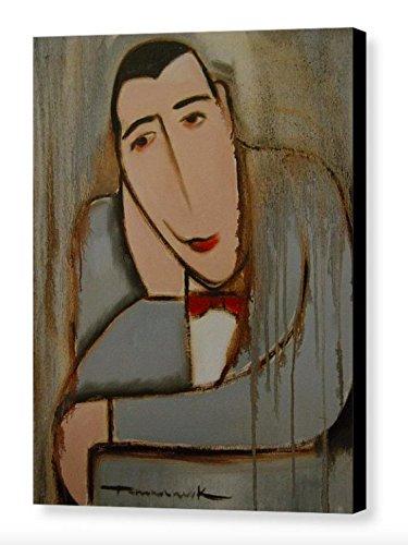 Tommervik Deco Pee Wee Herman Art Print Art Deco Art Pop Art Gallery Wrapped Canvas Print (Wee Art Gallery)