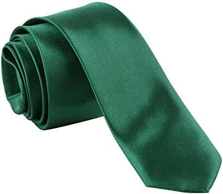 Green Silk Feel Tie for Man
