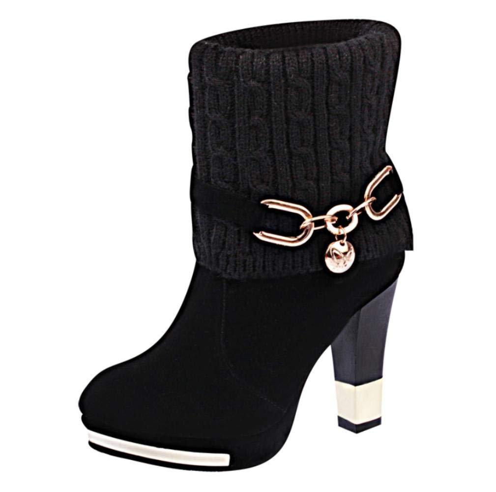 NVXUEZIX Damen Schuhe Nubukleder Herbst Winter Winter Winter Schneestiefel Komfort Stiefel Für Normal Schwarz Rot d49318