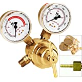 Victor Type Rear Mount Acetylene Gas Welding Welder Regulator Pressure Gauge