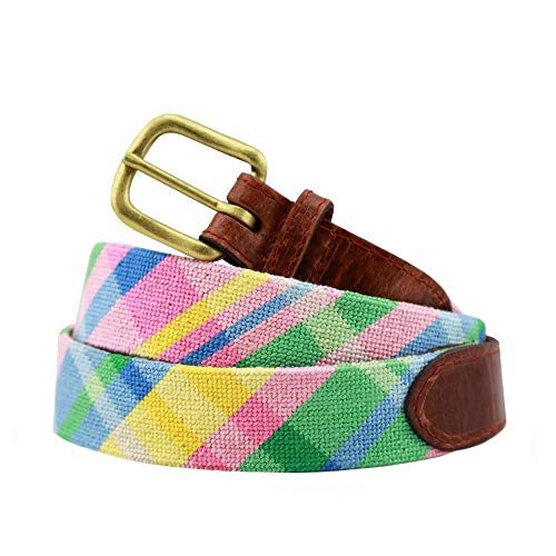 Smathers & Branson Men's Needlepoint Belt 40 Spring ()