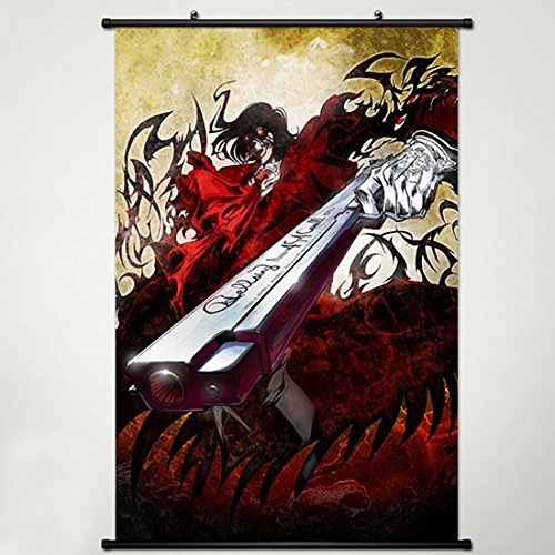 Wall Scroll Poster Fabric Painting For Anime Hellsing Alucard 003 L ()