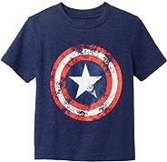 Marvel Camiseta de Capitán América para niño