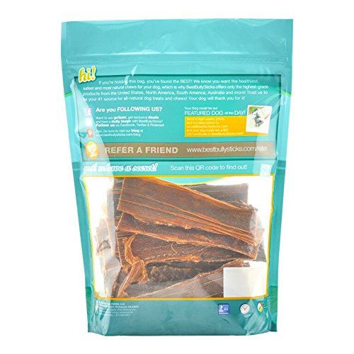 Best Bully Sticks 6-inch Joint Jerky Dog Treats by (25 Pack) All Natural Beef Dog Treats