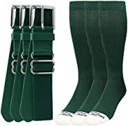 Pro Line Baseball Socks and Belt Combo Youth and Adult