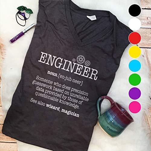 Engineer Embroidery Engineer noun see also wizard magician (2) T Shirt Long Sleeve Sweatshirt Hoodie Youth T Shirt Long Sleeve Sweatshirt Hoodie Youth
