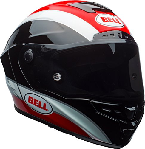 Bell Star MIPS Equipped Street Motorcycle Helmet (Gloss Black/Red Classic, X-Large)