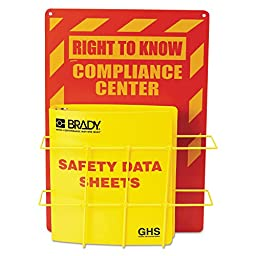 Brady 121370 Globally Harmonized System (GHS) Center - English