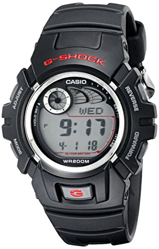 Casio Men's G-Shock G2900F-1V Black Resin Sport Watch