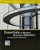 img - for Bundle: Essentials of Modern Business Statistics with Microsoft Office Excel, 7th + XLSTAT Education Edition Printed Access Card + MindTap Business Statistics, 1 term (6 months) Printed Access Card book / textbook / text book