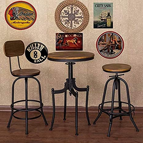 binnazhenzhi Metal Sign Indian Motorcycles 12 x 12 inches Courtyard Wall Home bar Decorated Signs