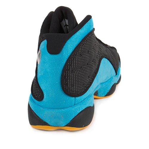 af654f4871c920 Nike Mens Air Jordan 13 Retro CP PE Chris Paul Black Sunstone-Orion Blue  Leather Size 14