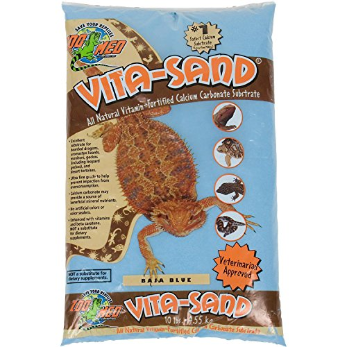 Zoo Med Vita Sand, 10 Pounds, Blue by Zoo Med