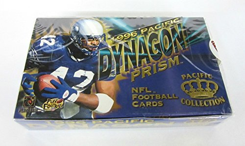 1996 Pacific Dynagon Prism Football Box (Hobby)