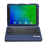 Galaxy Tab S2 T813N / T819N Keyboard case, KuGi ®-High quality Ultra-thin Detachable Bluetooth Keyboard Stand Portfolio Case / Cover for Samsung Galaxy Tab S2 T813N / T819N tablet(9.7 inch) (Blue)