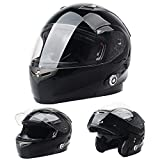 Bluetooth Motorcycle Helmets FreedConn Full Face Integrated Modular Flip up...