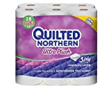 Health & Personal Care : Quilted Northern Ultra Plus Bath Tissue, 18 Double Rolls