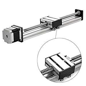 300mm Travel Length Linear Stage Actuator DIY CNC Router Parts X Y Z Linear Rail Guide Sfu1605 Nema23 Stepper Motor By Beauty Star by Konmison