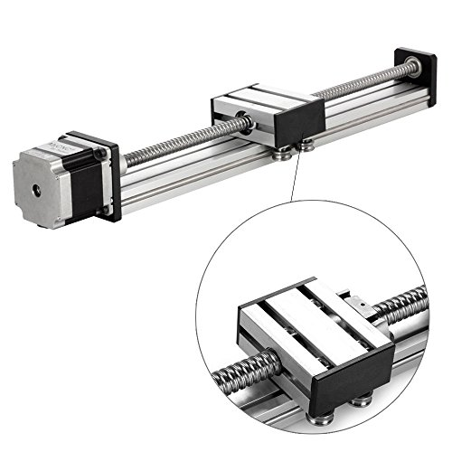 300mm Travel Length Linear Stage Actuator DIY CNC Router Parts X Y Z Linear Rail Guide Sfu1605 Nema23 Stepper Motor By Beauty Star