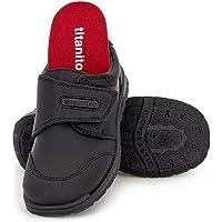 Titanitos Zapato Colegial Niño T840 Zeus Negro