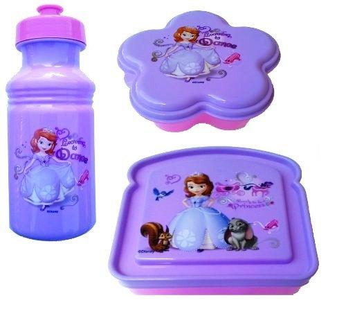 Exclusive Disney's Sofia The First Princess 3-Piece Lunch - Sofia Princess Lunch Box