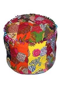 Decorativo Frutas Impreso acolchado Otomano Patchwork Escabel