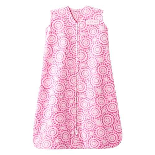 Halo Sleepsack Micro-Fleece Wearable Baby Blanket, Petal Swirl Pink, Small by Halo
