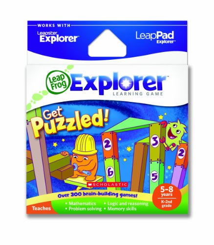 - LeapFrog Explorer Learning Game: Get Puzzled! (works with LeapPad & Leapster Explorer)