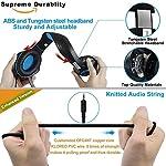 Beexcellent-GM-1-Cuffie-Gaming-con-microfono-Cuffie-da-Gioco-Bass-Stereo-per-PS4-Auricolari-Xbox-One-con-LED-Cancellazione-del-rumore-Controllo-Volume-per-PC-MAC-Laptop-Tablet-NeroBlu