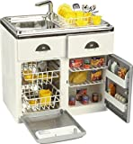 Pretend Play Toy Product: Toy Sink, Dishwasher and Refrigerator Kitchen Set