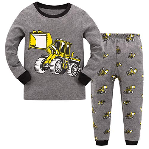 Qzrnly Toddler Pajamas Dinosaur Little Boys Clothes Truck Kids Pjs Sleepwear