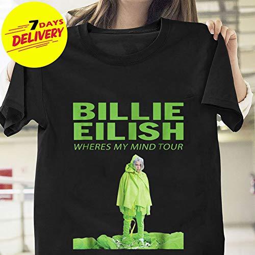 ef53324a Amazon.com: Billie Eilish Wheres My Mind Tour T-Shirt Sweatshirt Long Sleeve