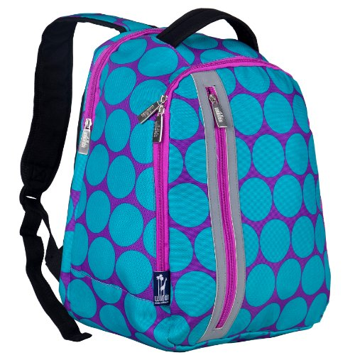 Price comparison product image Wildkin Big Dot Aqua Echo Backpack
