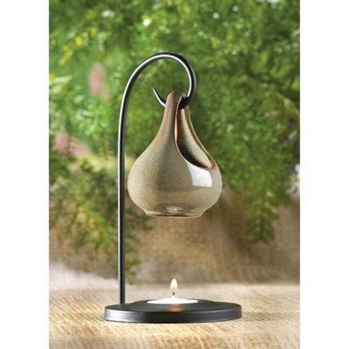 Gifts Decor Folk Art Porcelain Tear Drop Oil Warmer Candle Holder Kitchen In The Uae See