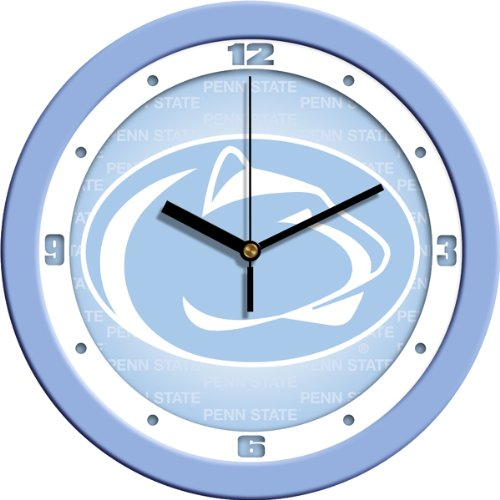 - SunTime NCAA Penn State Nittany Lions Wall Clock - Baby Blue