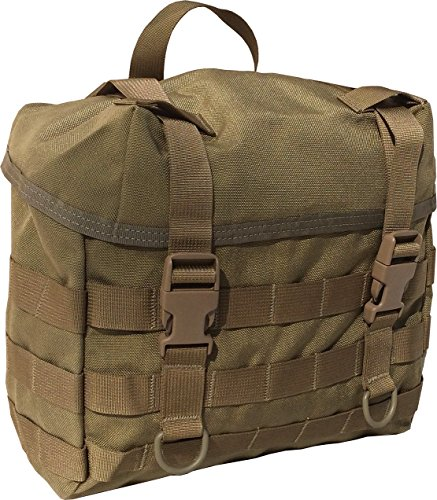 Tactical Butt Pack - Fire Force Military MOLLE Field Butt Pack Made in USA (Tactical Tan)