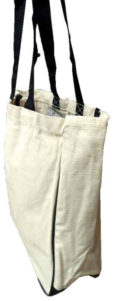 e1a9e8d255eb Amazon.com  ToolUSA 9 Inch Long Tote Bag In Natural Cotton  AB-70010-Z05    ( Pack of 2 Bags )  Automotive Engine Cooling Products  Kitchen   Dining