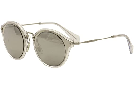 804f2f430314 Image Unavailable. Image not available for. Color: Miu Miu Womens Women's  Mu51ss 49Mm Sunglasses