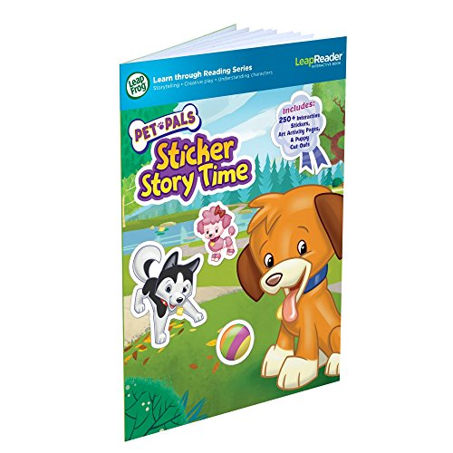 LeapFrog LeapReader Book: Pet Pals Sticker Story Time (works with - Book Tag