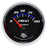 Auto Meter 6127 Cobalt Short Sweep Electric Oil Pressure Gauge