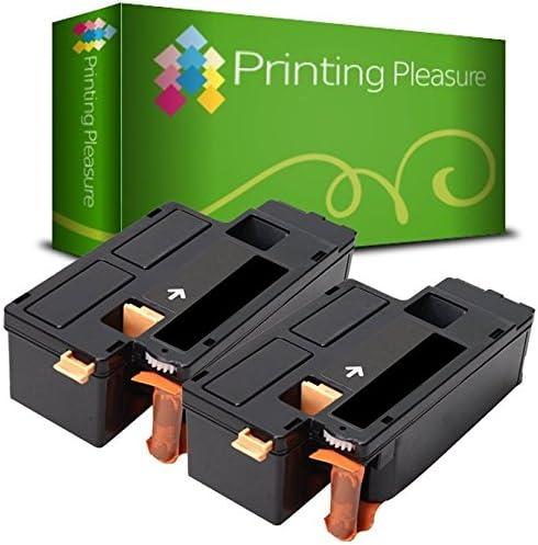 Printing Pleasure 2 Toner Cartridges Compatibel voor Dell E525wZwart Hoge Capaciteit