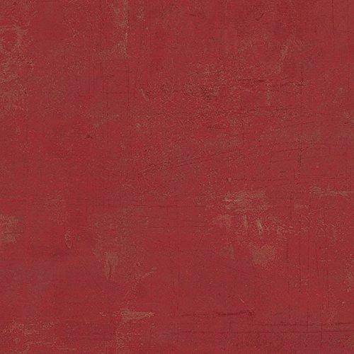 Manhattan Comfort NWCH28319 Skokie Vinyl Faux Textured Wallpaper, Red